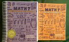 Teaching Textbooks Math 7 and answer booklet