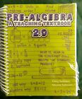 Teaching Textbooks Pre Algebra and answer key test booklet