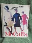 AUGUST 1967 McCALLS LARGE STORE COUNTER TOP PATTERN CATALOG BOOK
