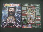 Johnny Mnemonic Pinball Flyer / Original Brochure