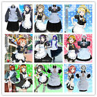 LoveLive!Sunshine! Love Live Anime Aqours 9 Roles Maid Dress Cosplay Costumes #