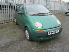 LARGER PHOTOS: Daewoo Matiz, Metalic green, only 36K miles from new - spares or repairs