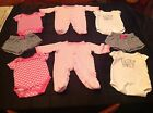 Lot of Twin Baby Girls Clothes 0 3 Months