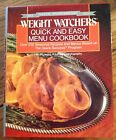 WEIGHT WATCHERS Quick  Easy 1988 Silver Anniversary Cookbook Excellent Vintage