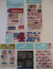 Scrapbooking Stickers Lot Jolees Boutique 4TH OF JULY