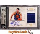 2012-13 Klay Thompson National Treasures RC Rookie Patch Auto Jersey #11 199 BGS
