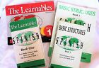 The Learnables Spanish 1 + Basic Structures Grammar Enhancement Books