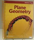 A Beka 7th 12th Grade Plane Geometry Solution Key 2nd edition FREE Shipping
