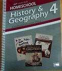 A Beka Homeschool History  Geography 4 Curriculum Lesson Plans