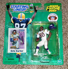 CRIS CARTER 2000-2001 NFL Starting Lineup SLU Action Figure MINNESOTA VIKINGS