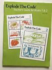 Explode the Code 2nd edition Teachers Guide for books 1  2