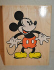 Stampede Disney BIG ANTIQUE MICKEY Mouse Mounted Rubber Stamp A1304G Retired