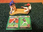 Starting Lineup 1989 open Ryne Sandberg (Cubs)/Vince Coleman (Cards) one on one