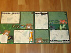 12 x 12 Premade Scrapbook Page ZOO