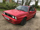 1989 LANCIA DELTA INTEGRALE 20 TURBO 8V RED SPARES OR REPAIRS