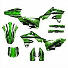2013 2014 2015 2016 KX 250F KXF250 graphics kit for Kawasaki #2001-GREEN