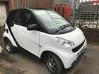 2008 FACELIFT SMART FORTWO PURE 10 71 BHP SEMI A AUTO BLACK  WHITE