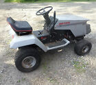Older Sears Craftsman Riding Mower 12hp no deck Parts Or Repair Runs Needs TLC
