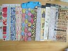 over 100 packages sheets scrapbooking lot stickers rub ons