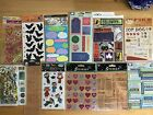 50+ packages sheets scrapbooking lot stickers rub ons metal embellishment lot 3