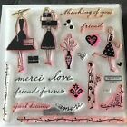Close to My Heart Just Because Card Kit D1327 Friends CTMH Stamp Set