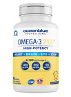 Ocean Blue High Potency OMEGA 3 2100 Fish Oil 60 or 120 Softgels