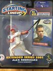 Alex Rodriguez 2001 Rangers Starting  Lineup 2 Extended Series Figure - SEALED!