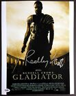 RIDLEY SCOTT SIGNED 11X14 PHOTO AUTOGRAPH PSA DNA COA DIRECTOR GLADIATOR