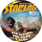 STARLOG MAGAZINE 218 ISSUES VINTAGE PDF FILES 6 DVDs SCIENCE FICTION