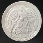 Frankoma 1973 The Annunciation Collector Hanging Plate SIGNED Christmas  8