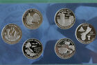 2009 Proof Quarter Set DC  US Territories 6 Coins ONLY No Box State Quarters