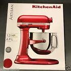 KitchenAid ARTISAN Stand Mixer 6.9L 5KSM7580XBCA-Candy Apple Food Processor Red