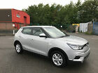 2016 SSANGYONG TIVOLI SE SILVER ONLY 6 MONTHS OLD AND 981 MILES ON THE CLOCK