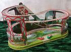 J CHEIN ROLLER COASTER  2 CARS LITHO WIND UP Best Offers