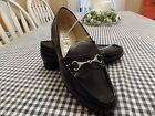 Womens Sam  Libby Black Patened Leather Loafers Tayden