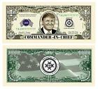 Kek Kekistan Donald Trump MAGA Pepe Frog Novelty Million Dollar Bill