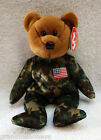Ty Beanie Babies - The HERO Bear - 2003, 5TH Generation - Honoring USO Members