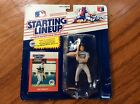 Vtg NIP 1988 Jim Presley #17 Seattle Mariners MLB Starting Lineup toy and card