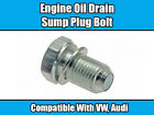BOLT FOR VW TRANSPORTER T4 T5 AUDI PASSAT GOLF BEETLE SUMP PLUG ENGINE OIL DRAIN