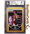 2007-08 Kevin Durant Bowman Chrome Gold Refractor RC Rookie 99 BGS 9 with 9.5 S