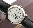 Patek Philippe Automatic Calendar Power Reserve Moon Phase Hinged back 5054G