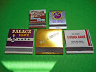 Vintage Casino Matchbooks Piccadilly Reno Feature Palace Club