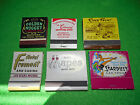 Vintage Casino And Nevada Matchbooks Mapes Stardust