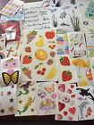 Lot Of 50 Mixed Sizes Mrs Grossmans Stickers 123
