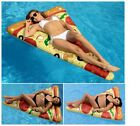 Toy Pizza Slice Inflatable Float Inflatable Raft Fun Beach Swimming Pool