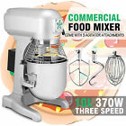 10 QT FOOD DOUGH MIXER BLENDER 0.5HP 370W MOTOR CATERING KITCHEN HEAVY DUTY