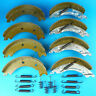 Twin Axle Trailer Brake Shoe Kit 200x50mm Knott ECE R90 Approved Ifor Williams,