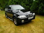 DAEWOO MUSSO SSANGYONG 4X4 29 TD 5 SPEED MANUAL YEAR 2000 SPARES REPAIRS