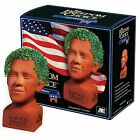 Barack Obama 4th of July Handmade Pottery Planter Chia Seed Grow In 1 2 Weeks
