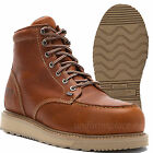 Timberland PRO Work Boots Mens Barstow Wedge Safety Toe 88559 Leather Moc Toe